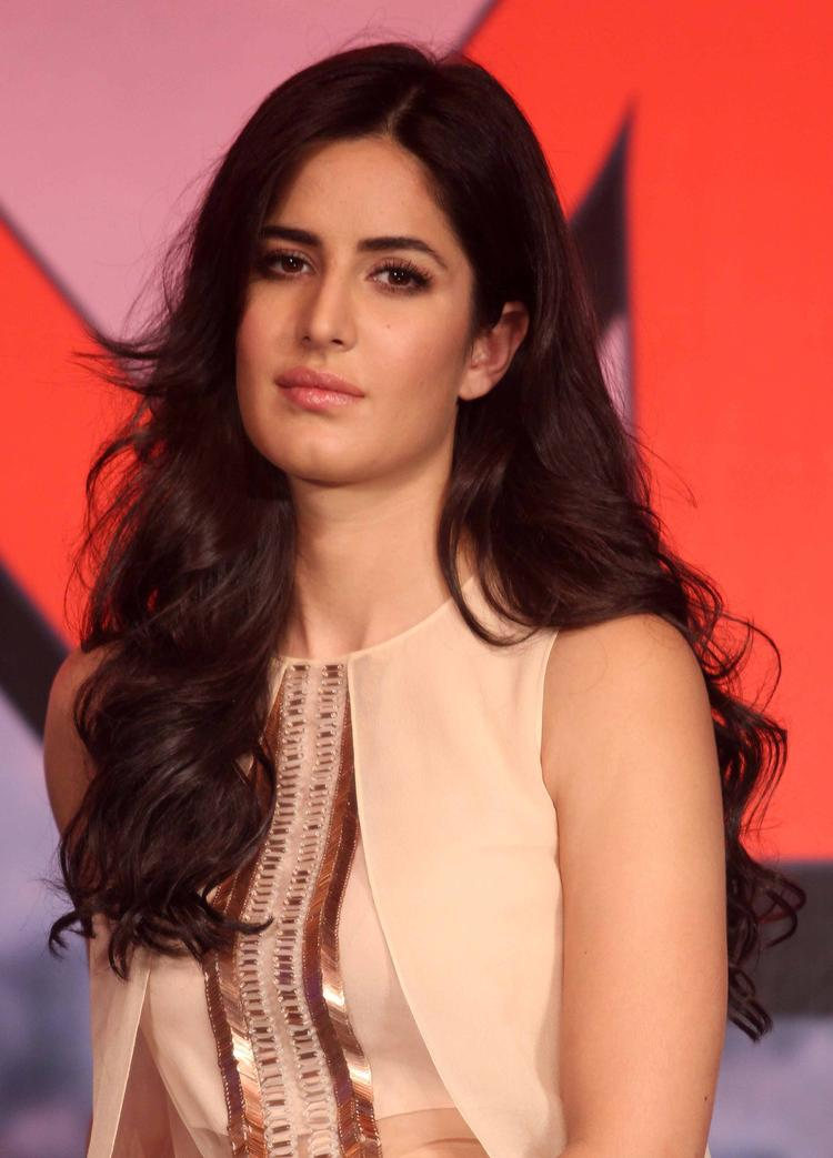 Katrina Kaif Cute Spicy Look During The  Press Conference Of Dhoom 3