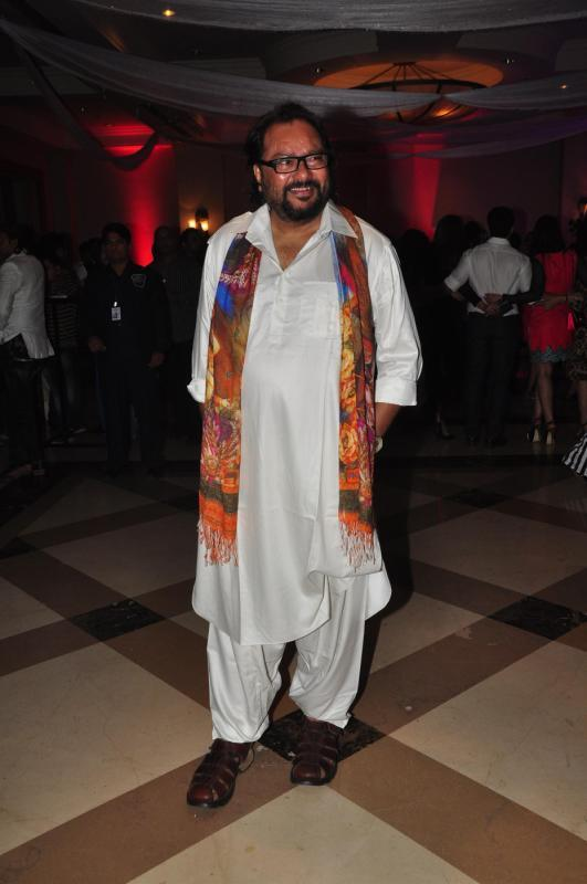 Music director Ismail Darbar Flashes Smile At Rohit Verma Marigold Watches Fashion Show 2013