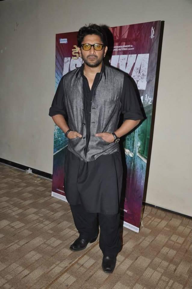 Arshad Warsi Simple Nice Look During The Promotion Of Dedh Ishqiya At Mumbai