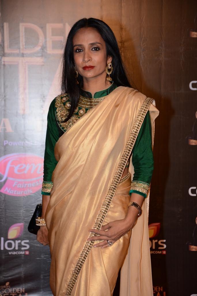 Suchitra Pillai Was Seen At Colors TV 3rd Golden Petal Awards 2013