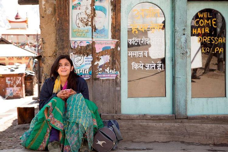 Alia Bhatt In A Village For Her Journey Movie Highway