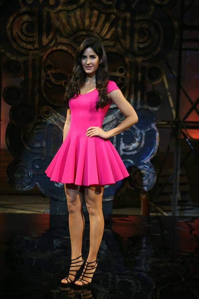 Barbie Doll Katrina Kaif  A Still From Dhoom 3 Promotional Event