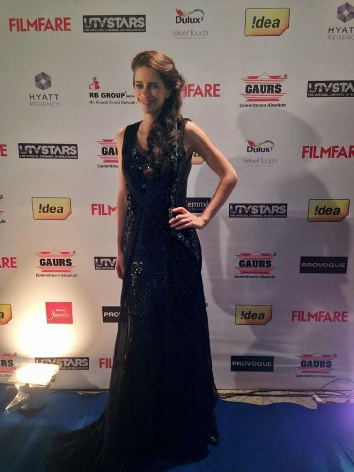 Bollywood Actress Kalki Koechlin Spotted At Filmfare Pre-Awards Party