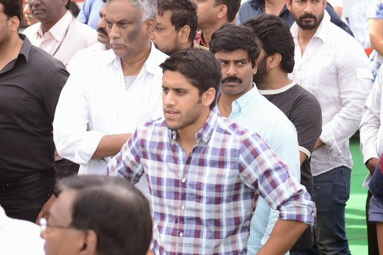 Naga Chaitanya Spotted At His Grand Father Akkineni Nageswara Rao Death