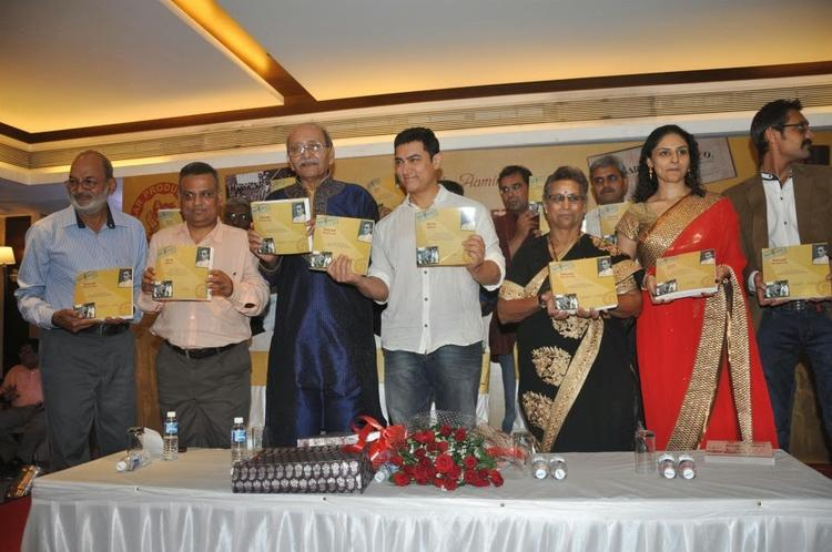 Aamir Khan Launches The Book 'Sagar Movietone With Other Celebs