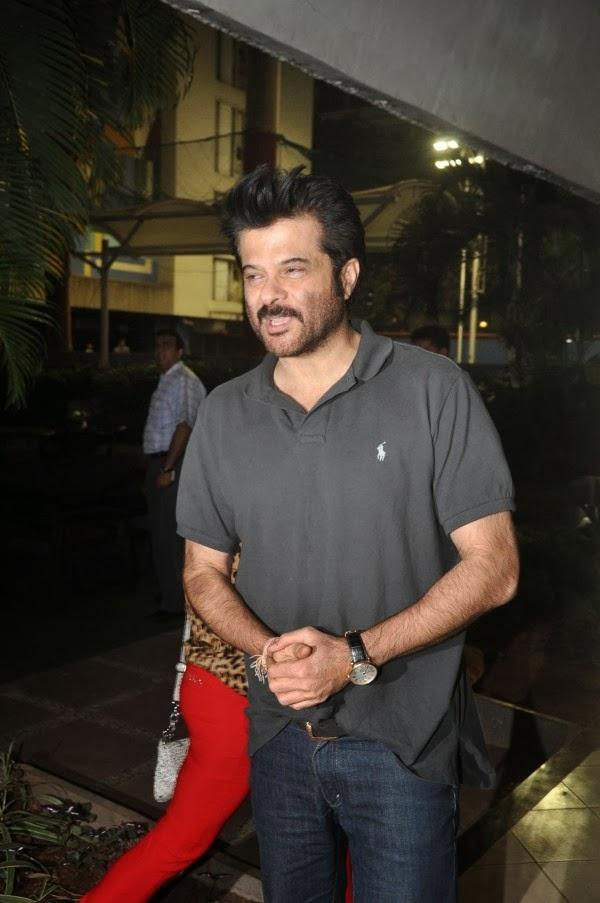 Anil Kapoor Snapped At The Launch Of Sagar Movietone Book In Mumbai