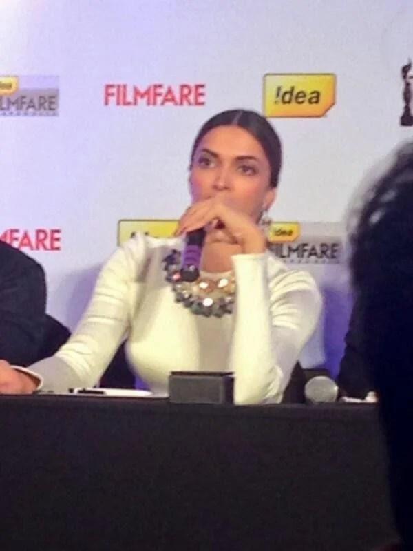 Deepika Padukone During The Idea Filmfare Awards Special Issue