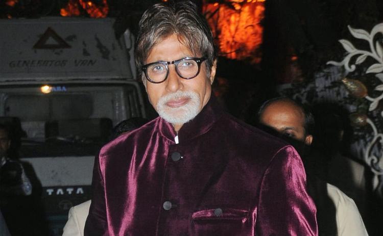 Amitabh Bachchan Dashing Look At Kokilaben Ambani's Birthday Bash