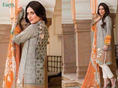 Kareena Kapoor Khan Dazzling Look Shoot For Faraz Manan's Crescent Lawn 2014 Collection