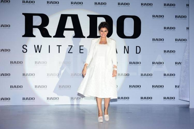 Lisa Ray Elegant Look During The Launch Of Rado Esenza Ceramic Touch Watches