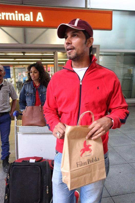 Randeep Hooda Spotted At Chopin Airport For Kick Shooting
