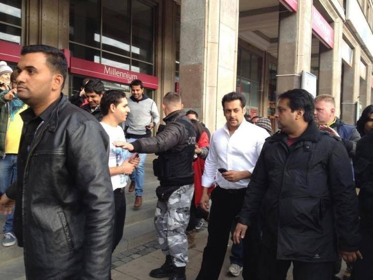 Salman Khan In Poland To Shoot 'Kick' Climax