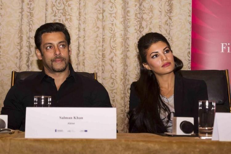 Kick Press Conference With Salman Khan And Jacqueline Fernandez In Poland