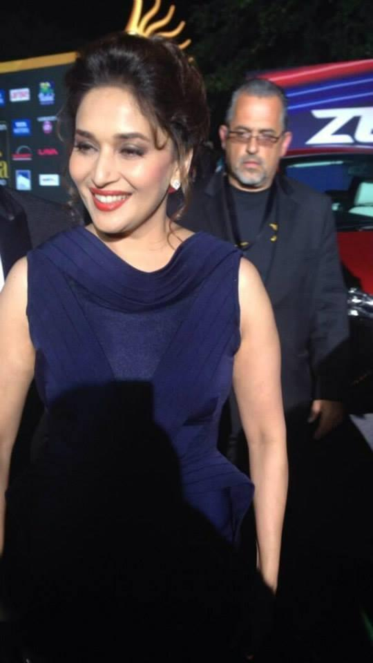 Madhuri Dixit Glamour Pic At The Much Awaited IIFA Awards Night Held In Florida