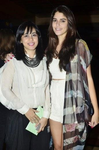 Izabelle Leite Spotted At Special Screening Of Purani Jeans