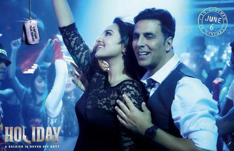 Akshay And Sonakshi's Movie 'Holiday' Latest Postcard Blame The Night Song Still