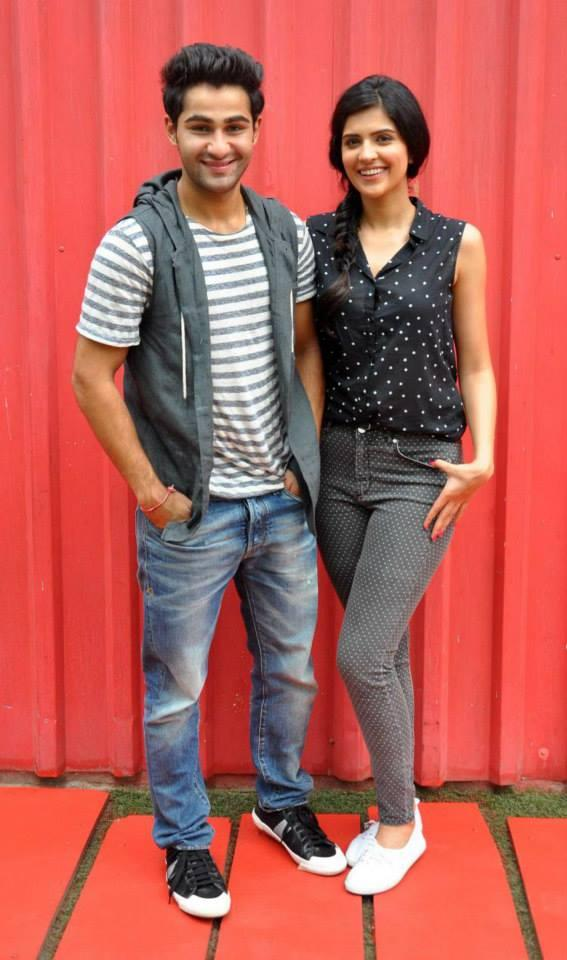 The Duo Armaan And Deeksha Spotted Giving Interviews At One Of The Famous Youth Hangouts, Smaash In Lower Parel