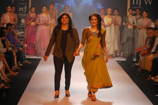 Sagarika Ghatge Showstopper For Ganjam Show