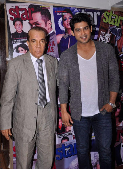 Nari Hira And Siddharth Shukla Posed During The Launch Of Star Week August Cover Issue