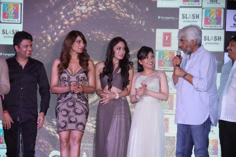 Bhushan Kumar,Bipasha,Khushali,Tulsi And Vikram During Creature 3D Audio Launch At R City Mall Ghatkopar