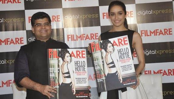 Shraddha Kapoor Unveiled The September Issue Of Filmfare Magazine