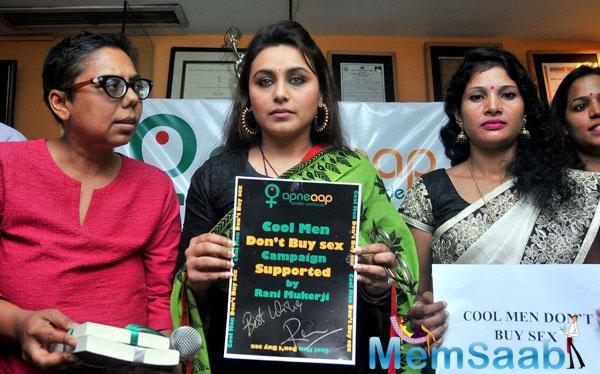 Apne Aap Trafficking Survivor Activist Fatima Championed By Rani Mukerji