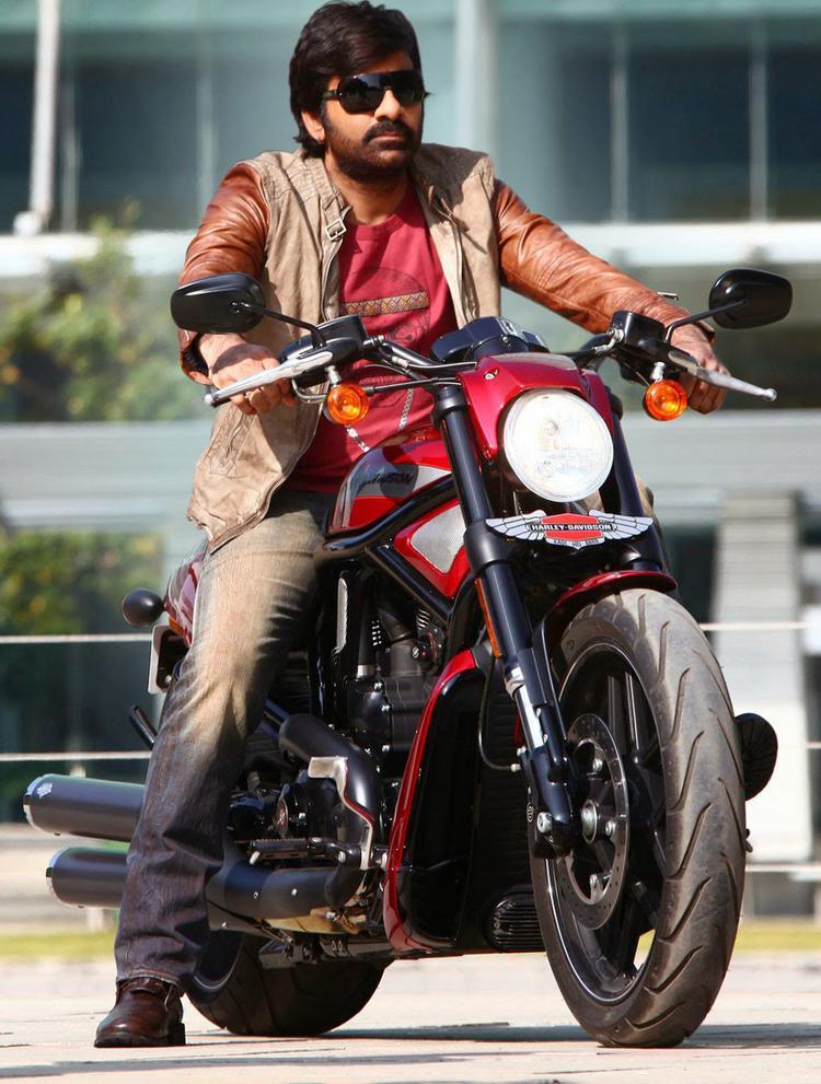 Ravi Teja Cool Pose Still From Power Movie