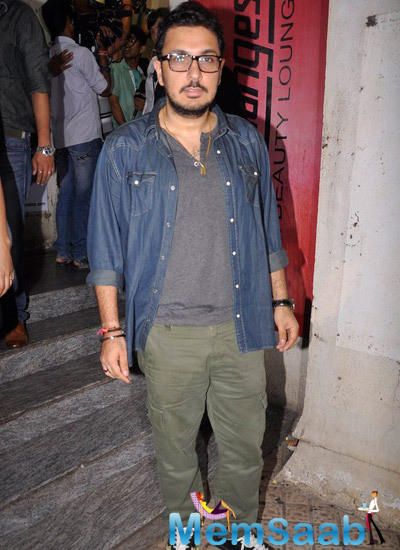Dinesh Vijan Posed During Finding Fanny Screening Hosted By Homi Adajania