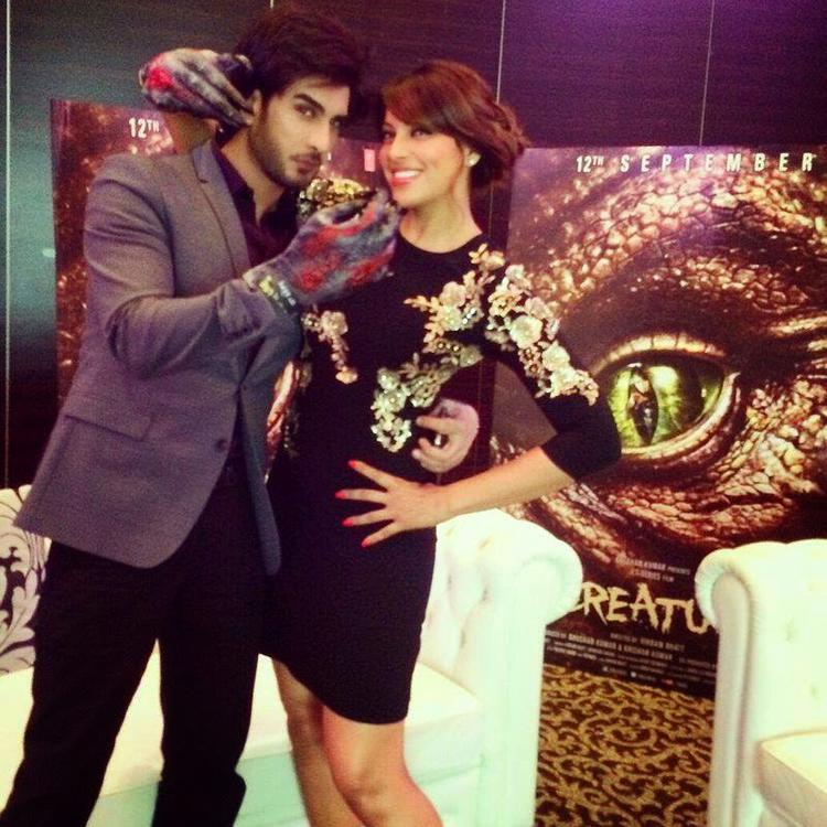 Bipasha And Imran Visited The Khaleej Times Office To Promote Creature 3D