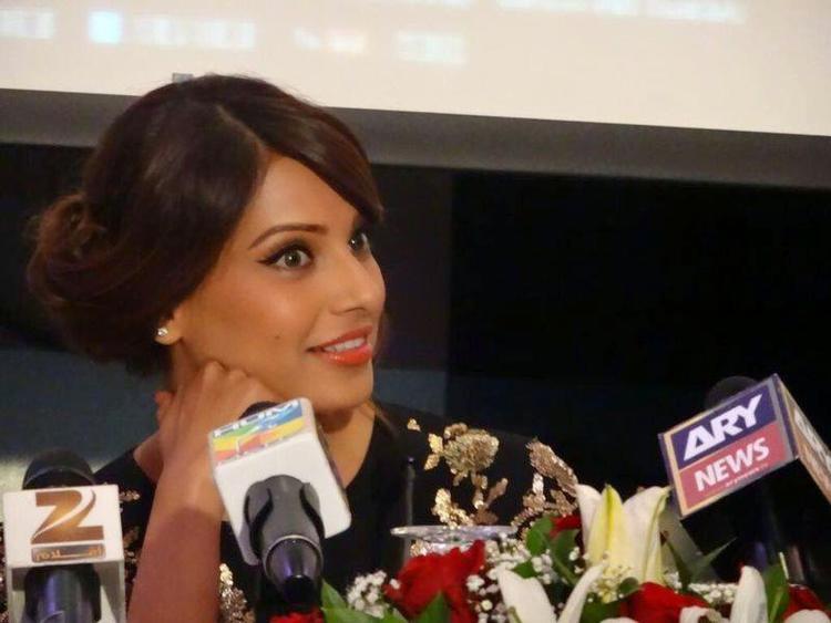Bipasha Basu Attends Creature 3D Press Conference In Dubai