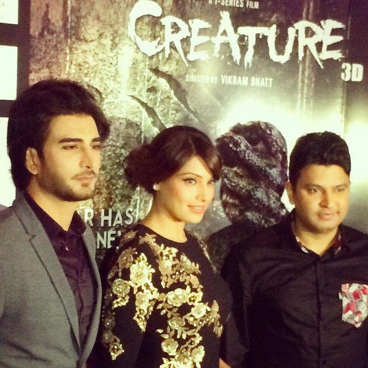 Pakistani Actor Imran With Bollywood Queen Bipasha In Dubai For Creature 3D Promotion