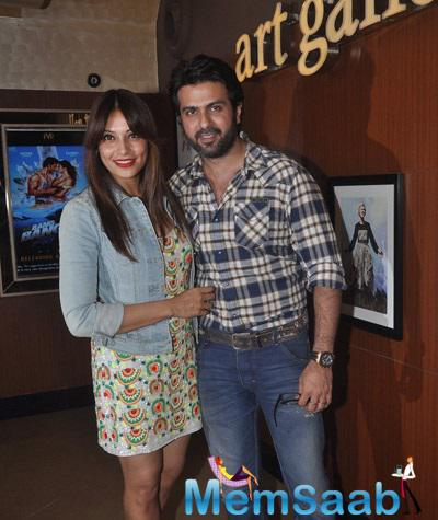 Bollywood Lovebirds Harman And Bipasha Came To Watch Creature 3D