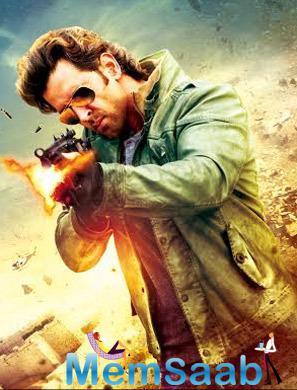 Hrithik Roshan Action Pose Still In Bang Bang Movie Tamil Posters