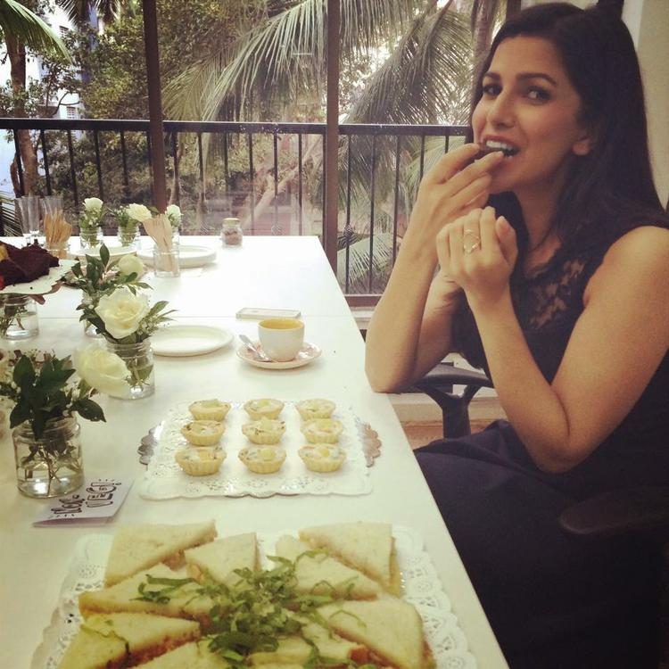 Nimrat Kaur During The Launch Of Cover Of September Issue Of The Juice Magazine For Jabong.Com