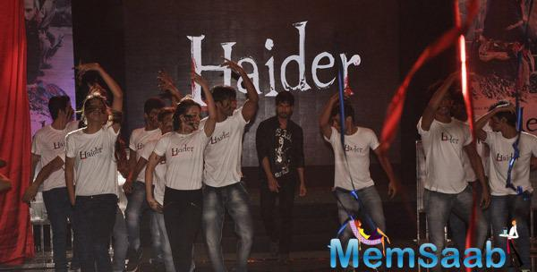 Shahid Kapoor Snapped At Haider Song Launch