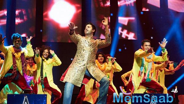 Abhishek Entertained The Audience With His Performance At SLAM! The Tour Concert