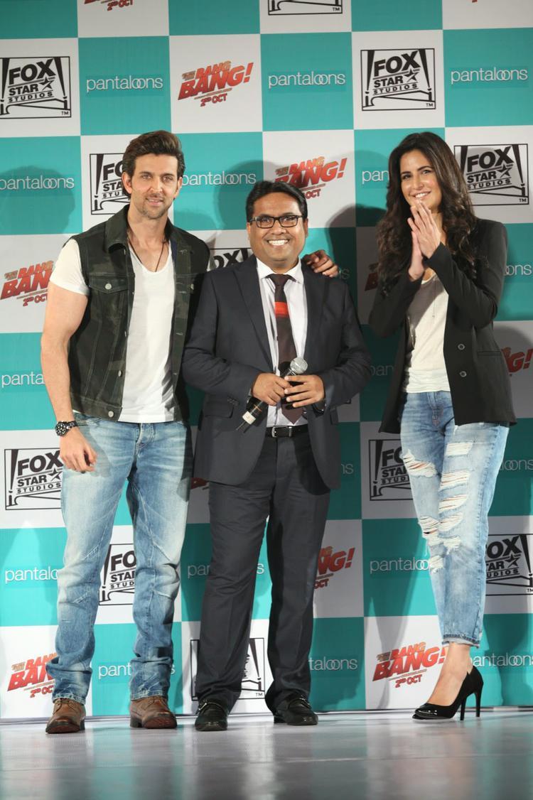 Hrithik And Katrina Kaif Launch Bang Bang Collections For Pantaloons