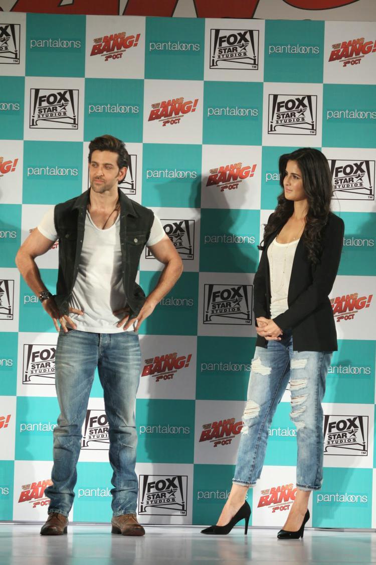 Pantaloons Unveil Bang Bang Collection With Hrithik And Katrina