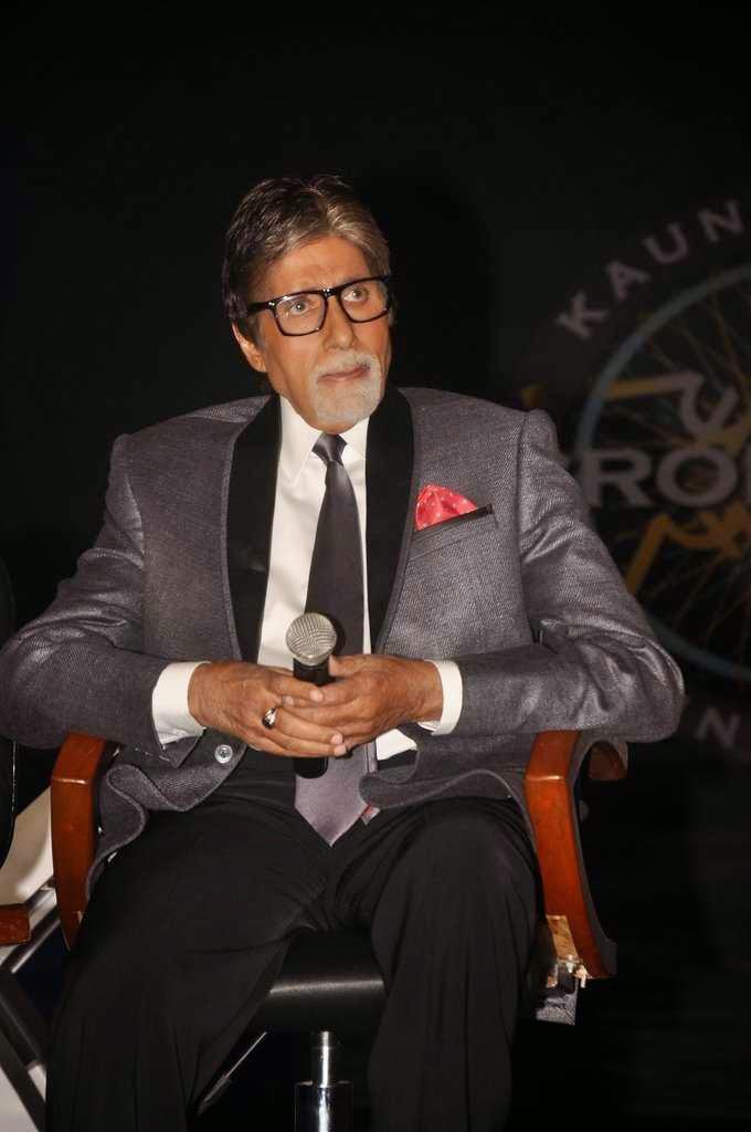 Megastar Amitabh Bachchan At KBC 8 Jodi Special Episode