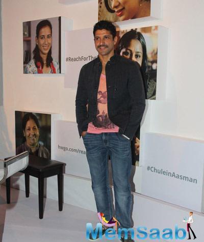 Farhan Akhtar Unveils MARD Song Chulein Aasman For Women Empowerment