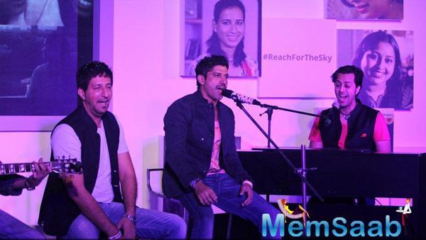 Sulaiman Merchant,Farhan Akhtar And Salim Merchant Unveil MARD Song For Women Empowerment