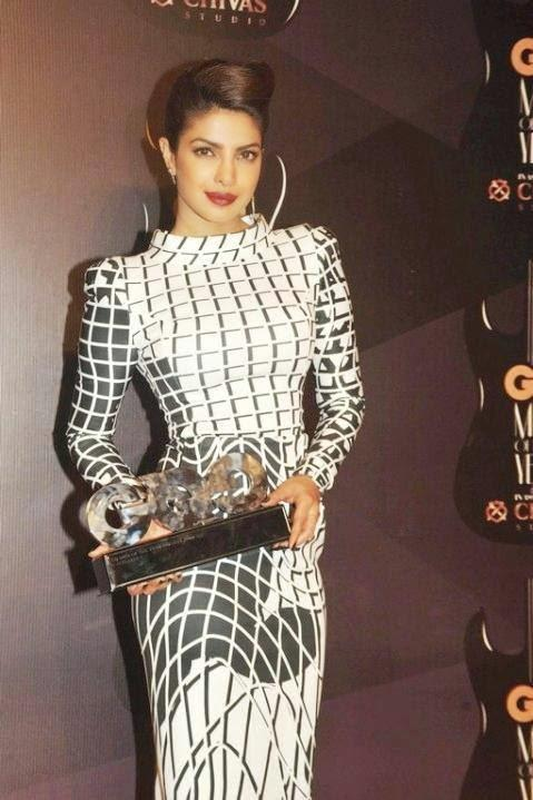 Priyanka Chopra Bagged An Award In Excellence At GQ Men Of The Year Awards