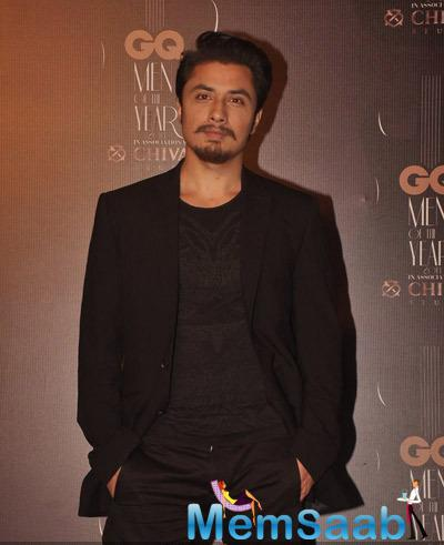 Ali Zafar Dashing Look At GQ Men Of The Year Awards 2014