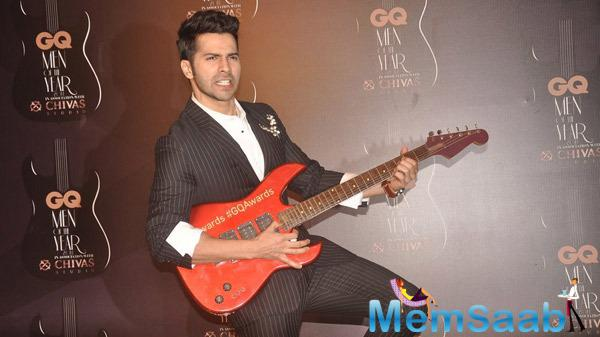 Varun Dhawan Looking Extremely Stylish In Dior And Cavalli Suit