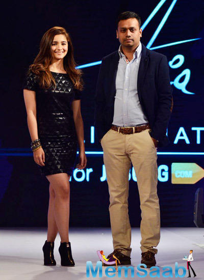 Alia Joined Hands With Jabong.Com To Launch Her Line Of Apparel Alia Bhatt For Jabong