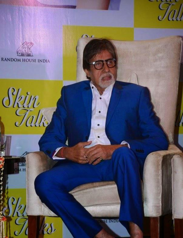 Amitabh Bachchan Unveiled Skin Talks By Cosmetic Dermatologist Dr. Jaishree Sharad