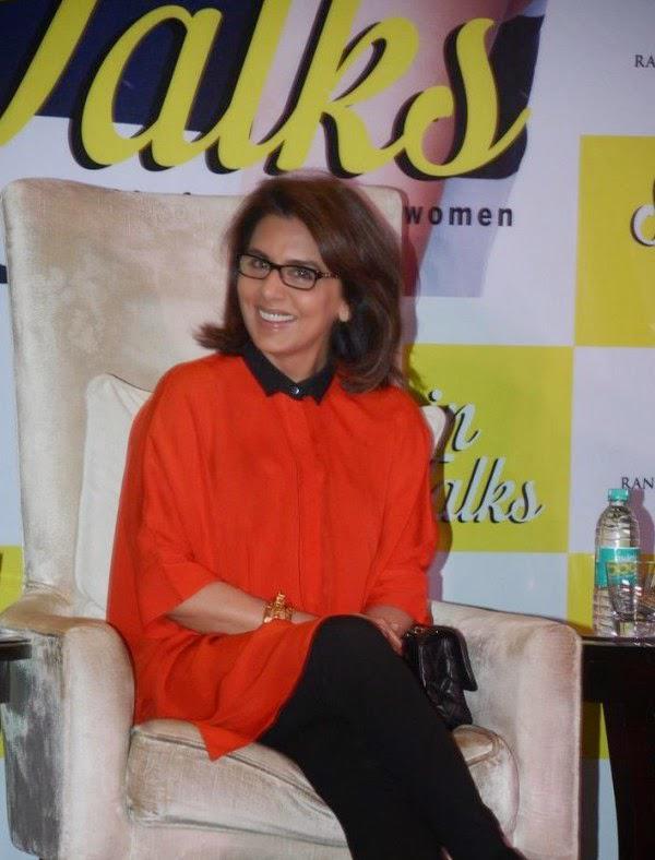 Neetu Singh Smiling Pose During Dr Jaishree Sharad Book Launch Event