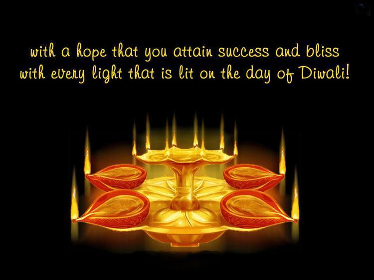 Wishes You A Joyful And Prosperous Diwali Greetings