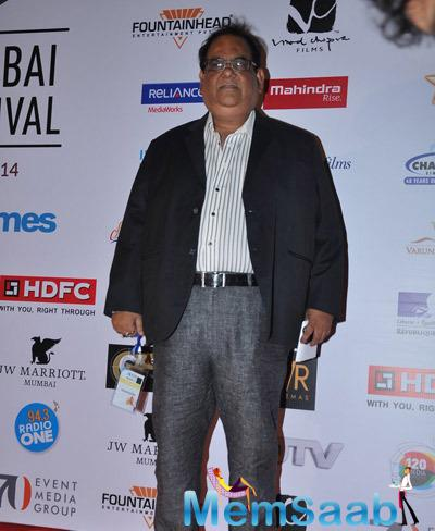 Satish Kaushik Present At The Opening Ceremony Of 16th Mumbai Film Festival 2014