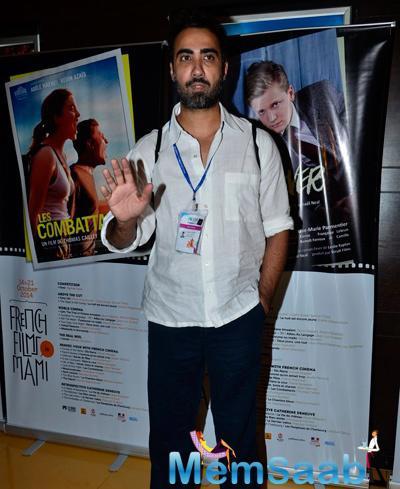 Ranvir Shorey Strikes A Pose At MAMI Festival On Day 5